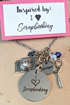 2020 NEW!  I {heart} Scrapbooking Necklace