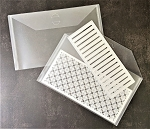 Storage-**Set of 8**Clear Envelope Holder *Great for Slim Line Dies*