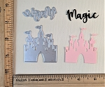 Scrapbooking Die-Little Castle of Magic  {castle and word}