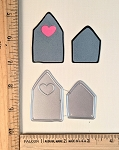 Scrapbooking Die-Small Heart House