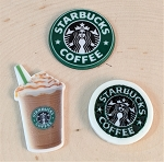 Trinkets inspired by Starbucks--Flat backed embellishment piece