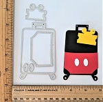 Scrapbooking Die-Mouse Suitcase