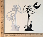 Scrapbooking Die-Standing Tall Skeleton