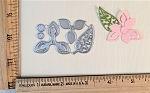 Scrapbooking Die- Mini Point Flower/ Leaf