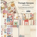 Memory Place- Vintage Recipes 12x12 Paper Pack