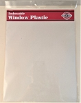 Embossable Window Plastic-Full Sheets 8 1/2