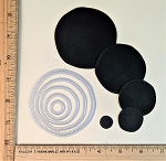 Scrapbooking Die-Wobbly Circles x 5