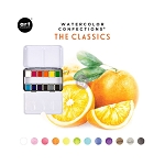 Watercolor Confections-  The Classics  + 2 brushes