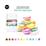 Watercolor Confections-  Pastel Dreams  + 2 brushes
