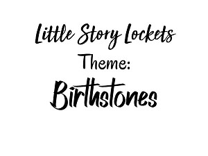 Little Story Locket-Charms-Birthstones