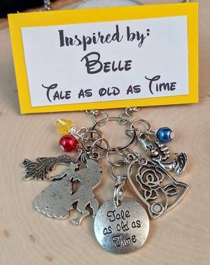 2020 NEW!  Disney inspired necklace  **Tale as old as Time**