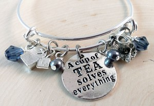 Adjustable Bracelet-Coffee related