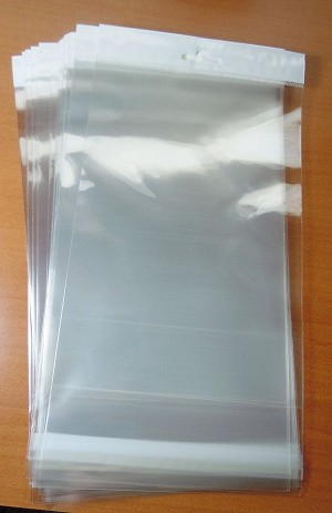 Clear bags --will not have white section
