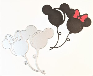 Scrapbooking die-2 Mouse Balloons