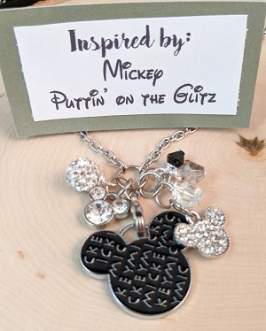 2020 NEW!  Disney inspired necklace  **Mouse-Glitz**