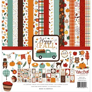 Happy Fall Collection-Echo Park Paper Pad/Sticker