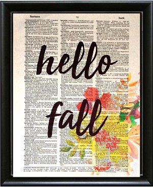 NEW!  Hello Fall collection--Limited edition- 5 prints!