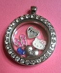 Little Story Locket-Rhinestone