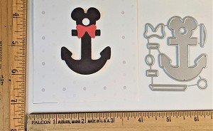 Scrapbooking Die-Mouse Head Anchor