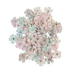 Sugar Cookie Christmas -White Christmas Flowers 80/pcs