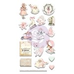 Sugar Cookie Christmas -Puffy Stickers 18pcs