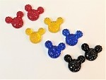 Mouse Head Rhinestones - 8mm packages