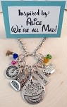 Disney inspired necklace  **Alice in Wonderland** We're all mad here #2
