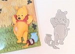 Scrapbooking Die-Favorite Bear with open tummy