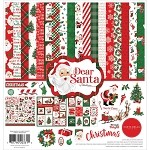 Dear Santa-Carta Bella 12x12 Kit