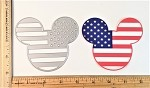 Scrapbooking Die-Patriotic Mouse Head