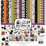 I Love Halloween- Echo Park Paper Pad Kit