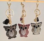 Rhinestone Key chains-Animals