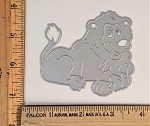 Scrapbooking Die-Cute Lion