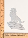 Scrapbooking Die-Lion on the edge