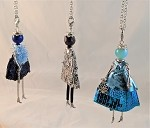 Necklace-Lovely Ladies --Sequins