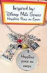 2020 NEW!  Disney inspired necklace  **Main Street-Happiest Place on Earth**
