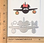 Scrapbooking Die-Mouse Airlines