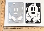 Scrapbooking Die-Happy Mouse Face Picture Card