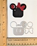 Scrapbooking Die-Mouse Head Camera