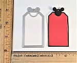 Scrapbooking Die-Mouse Head Tag