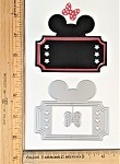 Scrapbooking Die-Mouse Head Magic Ticket