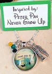 2020 NEW!  Disney inspired necklace  **Never Grow Up**