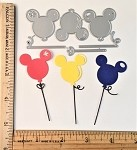 Scrapbooking die-Balloon on a stick or string!