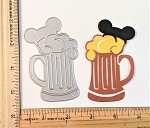 Scrapbooking Die-Tall Mug of Beer