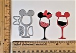 Scrapbooking Die-Mouse Wine