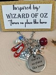 2020 NEW!  Wizard of OZ inspired necklace  **There's no place like home**