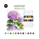 Watercolor Confections-  Tropicals  **Plus free brushes to get you started**