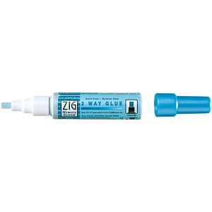 Zig 2 Way Glue-Chisel Tip Glue Pen